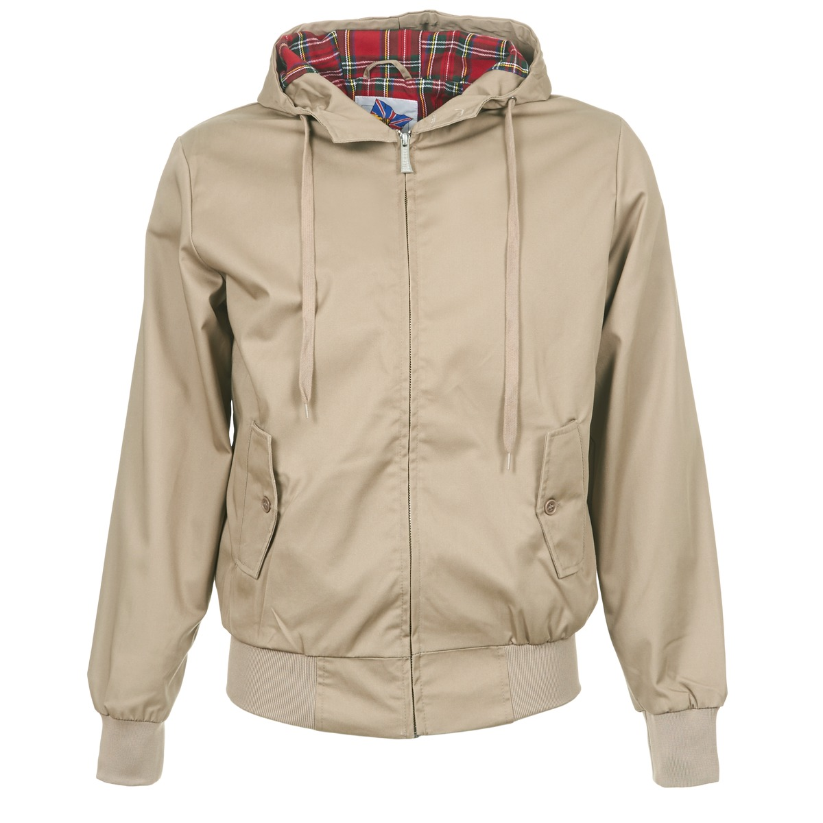 Harrington HARRINGTON HOODED BEŻ