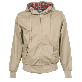 Kurtki lekkie Harrington HARRINGTON HOODED BEŻ 350x350