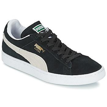 Buty Trampki niskie Puma SUEDE CLASSIC Czarny / Biały
