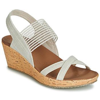 Buty Damskie Sandały Skechers BEVERLEE Beżowy