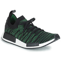 Buty Trampki niskie adidas Originals NMD_R1 STLT PK Czarny / Zielony