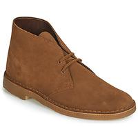 Buty Męskie Buty za kostkę Clarks Desert Boot Brązowy
