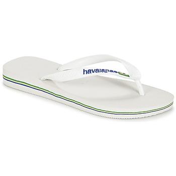 Buty Japonki Havaianas BRASIL LOGO Biały