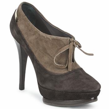 Buty Damskie Low boots Alberto Gozzi CAMOSCIO ARATY Brązowy