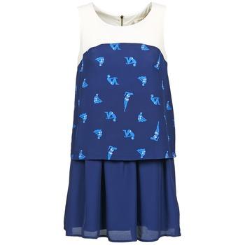 tekstylia Damskie Sukienki krótkie Naf Naf LIBAIN Marine
