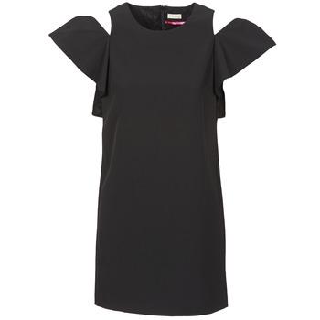 tekstylia Damskie Sukienki krótkie Naf Naf X-KARLI Czarny