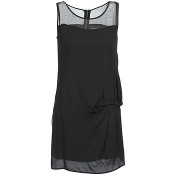 tekstylia Damskie Sukienki krótkie Naf Naf X-LAMO Czarny
