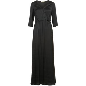 tekstylia Damskie Sukienki długie Naf Naf X-MAYOU Czarny