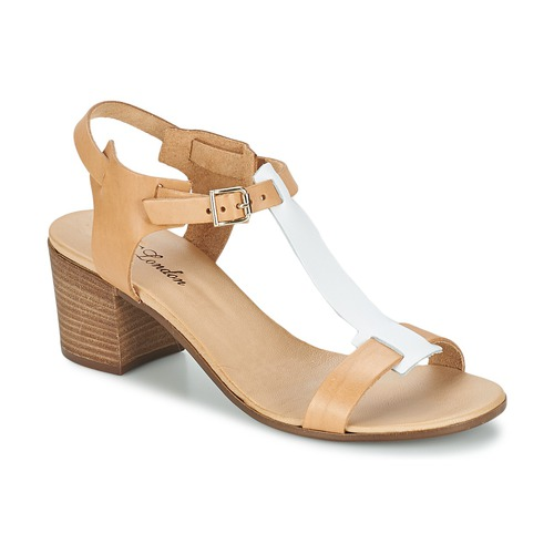 Buty Damskie Sandały Betty London GANTOMI CAMEL / Biały