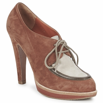 Buty Damskie Low boots Michel Perry SADDLE Saddle-madras