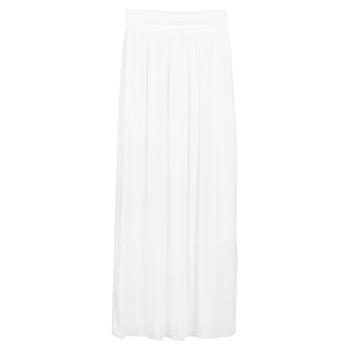 tekstylia Damskie Spódnice Betty London SIXTINE Biały