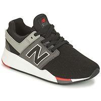 Buty Chłopiec Trampki niskie New Balance GS247 Czarny
