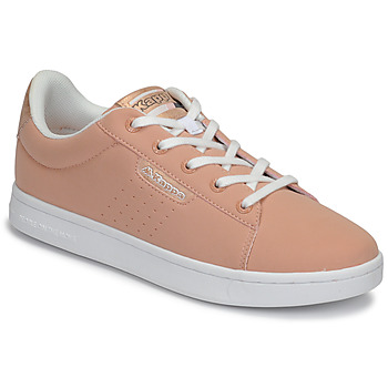 114231153 Buty Dziewczynka Trampki niskie Kappa TCHOURI LACE Różowy / Biały