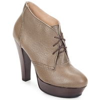 Buty Damskie Low boots Keyté ETRIOU Taupe