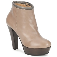 Buty Damskie Low boots Keyté POULOI Taupe