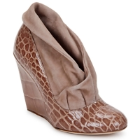 Buty Damskie Low boots Jerome C. Rousseau SAVOYE CROC Taupe