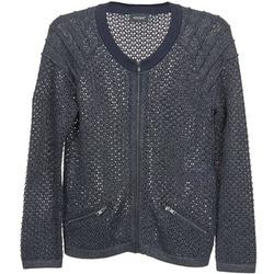tekstylia Damskie Swetry rozpinane / Kardigany Kookaï TOULIA MARINE