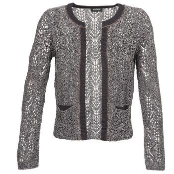 tekstylia Damskie Swetry rozpinane / Kardigany Kookaï TULICHE Brązowy