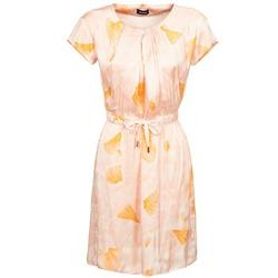 tekstylia Damskie Sukienki krótkie Kookaï VOULATE Różowy / żółty