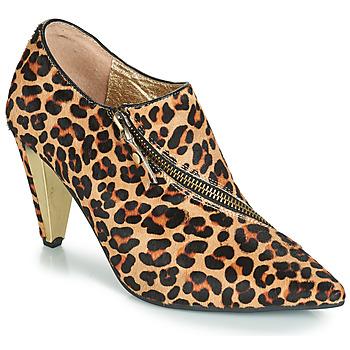 Buty Damskie Botki Lola Ramona RAMONA Leopard