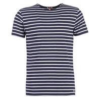 tekstylia Męskie T-shirty z krótkim rękawem Armor Lux TALOPO Marine / Biały