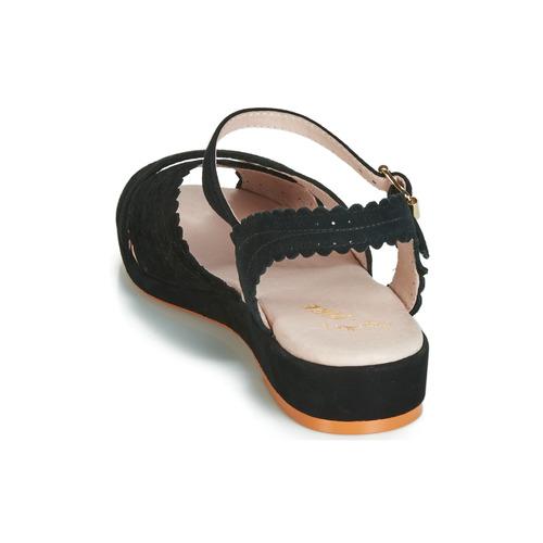 BRIGITTE  Miss L'Fire  sandały  damskie  czarny