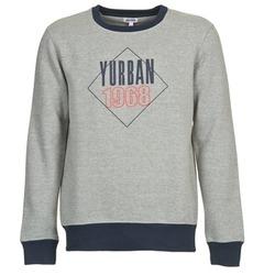 tekstylia Męskie Bluzy Yurban CEDRIC Szary