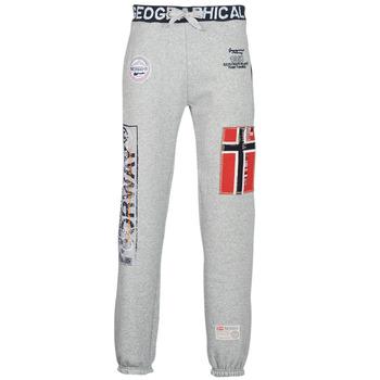 tekstylia Męskie Spodnie dresowe Geographical Norway MYER Szary