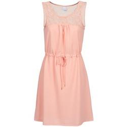 tekstylia Damskie Sukienki krótkie Vero Moda ZANA Różowy