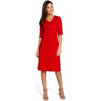 tekstylia Damskie Topy / Bluzki Be B079 Bluza z kimonowymi rękawami - militarno Militarno zielony
