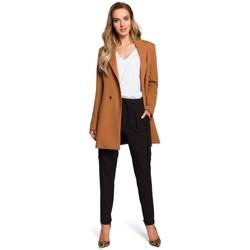 tekstylia Damskie Spódnice Style S103 Spódnica z kieszeniami z przodu Granatowy