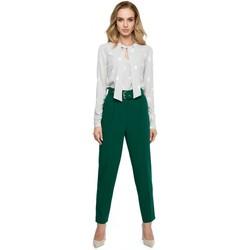 tekstylia Damskie Sukienki Be B014 Sukienka z dekoltem woda Beżowy