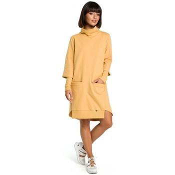 tekstylia Damskie Sukienki Moe M276 Sukienka ołówkowa Szary