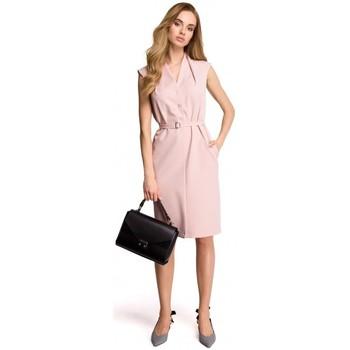 tekstylia Damskie Bluzy Moe M207 Asymetryczna peleryna Szary