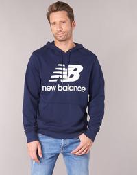 tekstylia Męskie Bluzy New Balance NB SWEATSHIRT Marine