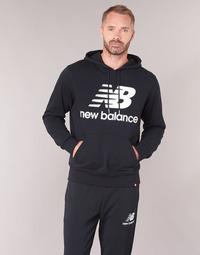 tekstylia Męskie Bluzy New Balance NB SWEATSHIRT Czarny