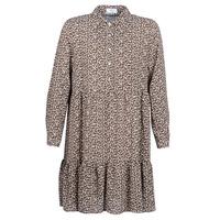 tekstylia Damskie Sukienki krótkie Betty London JECREHOU Beżowy / Brązowy