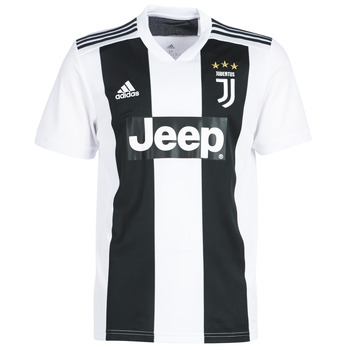 tekstylia Męskie T-shirty z krótkim rękawem adidas Performance JUVE JERSEY Czarny