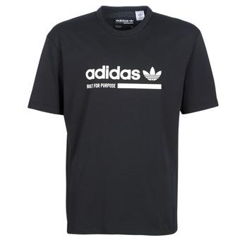 tekstylia Męskie T-shirty z krótkim rękawem adidas Originals SNAPI Czarny