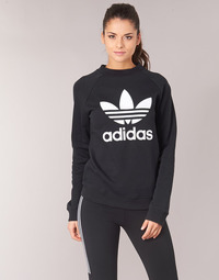 tekstylia Damskie Bluzy adidas Originals TRF CREW SWEAT Czarny