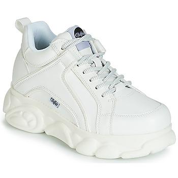 Buty Damskie Trampki niskie Buffalo 1630121 Biały