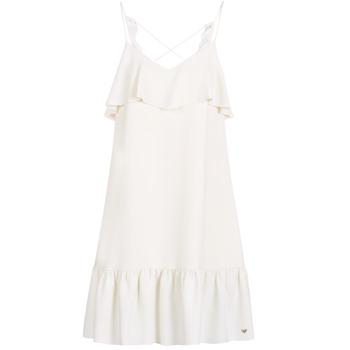 tekstylia Damskie Sukienki krótkie Les Petites Bombes AZITARBE Biały