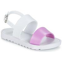 Buty Dziewczynka Sandały Be Only ELEA Biały / Różowy