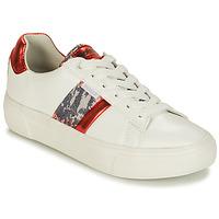 Buty Damskie Trampki niskie Refresh 69954 Biały / Czerwony
