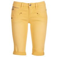 tekstylia Damskie Szorty i Bermudy Freeman T.Porter Belixa New Magic Color Żółty