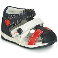 Buty Chłopiec Sandały Chicco GABRIEL Niebieski / Biały / Czerwony