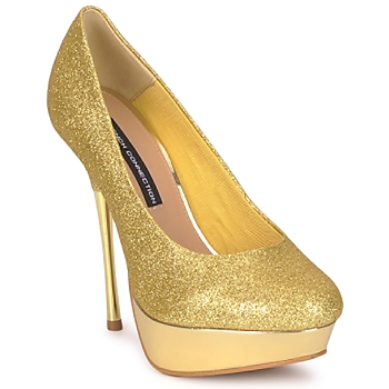 Buty Damskie Czółenka French Connection JEZABEL Gold