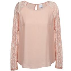tekstylia Damskie Topy / Bluzki Vero Moda REAL Różowy