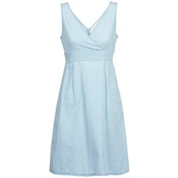 tekstylia Damskie Sukienki krótkie Vero Moda JOSEPHINE Niebieski / CLAIR