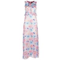 tekstylia Damskie Sukienki długie Smash ISABELA Różowy